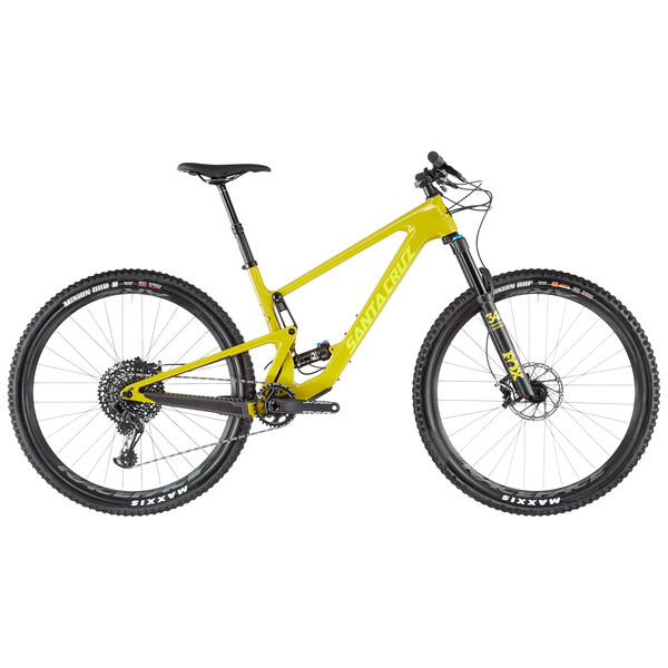 Santa Cruz Tallboy 4 Carbon C S Kit 29 Mtb Yellow 2020 Probikeshop